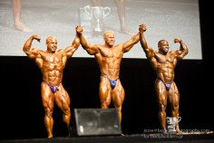 Top 3 at the 2011 IFBB Australian Bodybuilding Pro