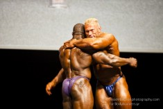 Dennis Wolf and Johnnie Jackson at the 2011 IFBB Australian Pro Grand Prix