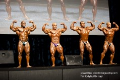 2011 IFBB Australian Pro Bodybuilding Grand Prix Comparisons