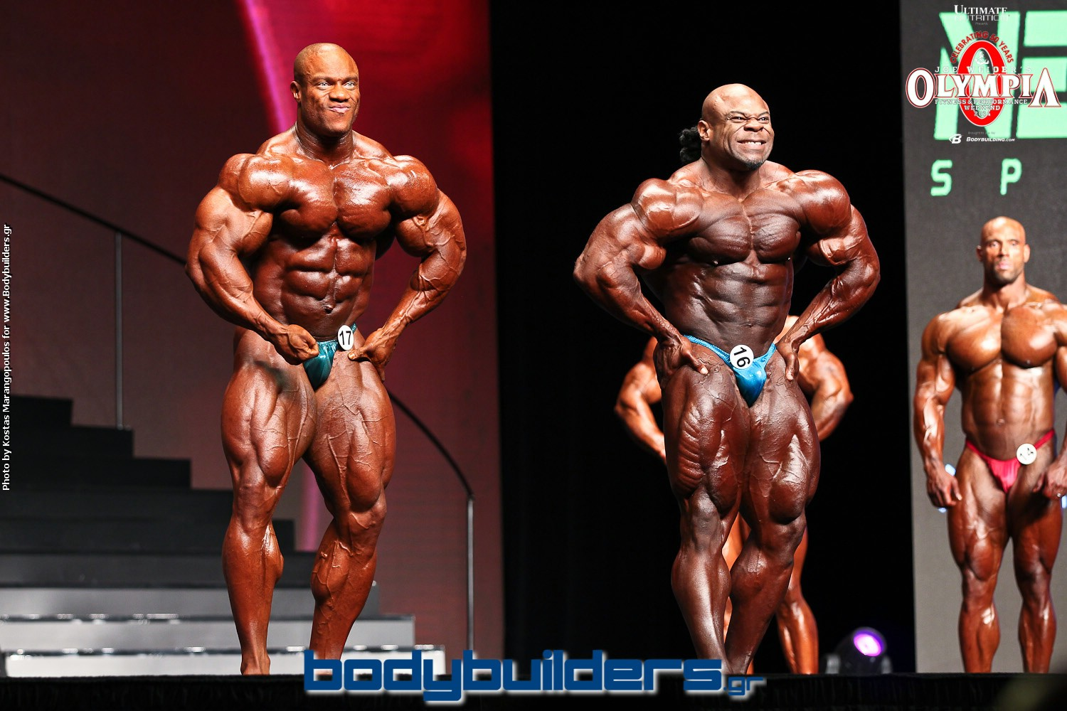Phil Heath 2014 Kai Greene