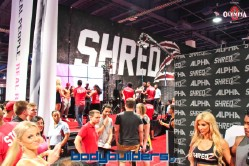 Shredz booth at the 2014 Olympia weekend expo