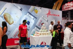 Metabolic nutrition booth at the 2014 Olympia weekend expo