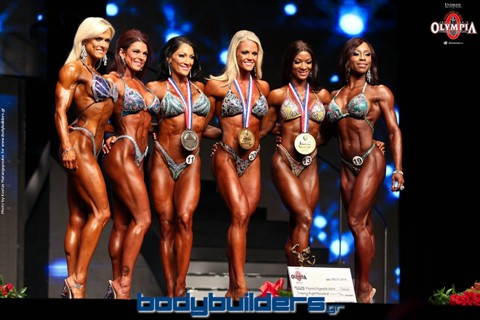 2014 IFBB Figure Olympia Finals Photos