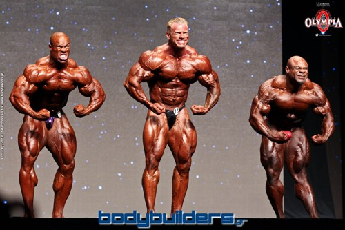 2014 IFBB Mr. Olympia Prejudging Photos