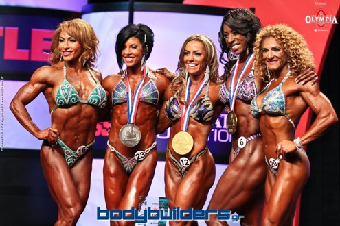 2014 IFBB Olympia Women's Physique: Greek Bodybuilding - Bodybuilders.gr Coverage