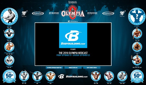 2014 Olympia Webcast by Bodybuilding.com