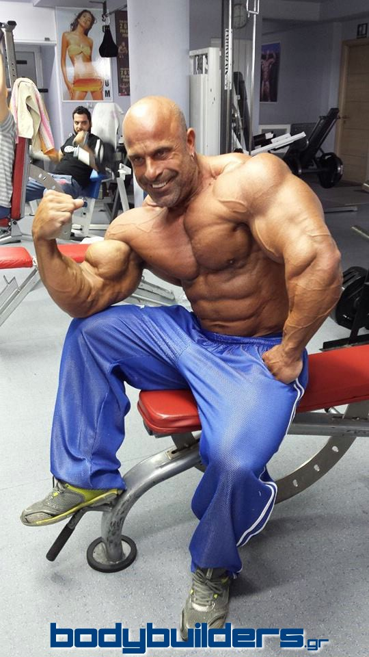 2014 Arnold Classic in Brazil, Michael Kefalianos 7 days out!