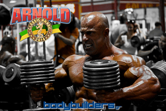 Michael Kefalianos Ready To Compete At The Arnold Classic Brazil 2014