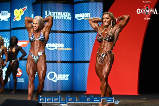 2015 IFBB Women's Physique Olympia - Prejudging Photos