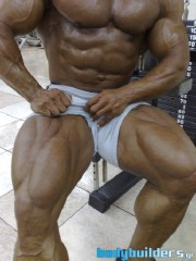 Mike Kefalianos - 1 Week Out From The 2011 Mr. Olympia Competition