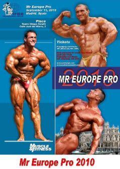 2010 IFBB Mr. Europe Pro