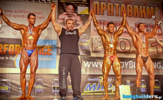 Wabba ���������� Mr. Hellas 2011 - ��������� BodyFitness