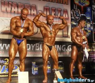 Wabba Πρωτάθλημα Mr. Hellas 2011 - Νικητής Ο Γιώργος Παπαδάκης