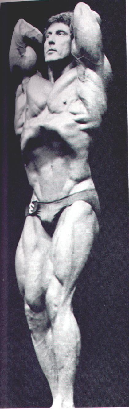 Frank Zane Vacuum Exercise Frank zane at gym!