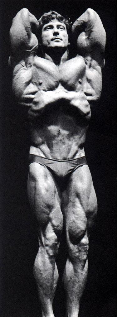 Frank Zane at Gym