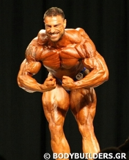 Manolis Karamanlakis Greek Bodybuilder
