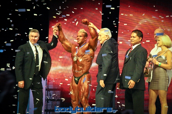 Joe Weider & Jim Manion - 2009 Mr. Olympia