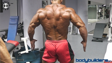 Michael Kefalianos Back Workout - October 2014