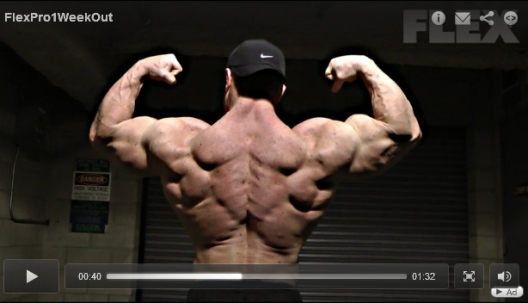 Constantinos Demetriou - 1 Week Out From 2012 Flex Pro